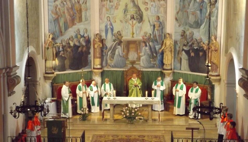 Mossèn Bladé s'acomiada de Castellvell després de 9 anys al cap de la parròquia