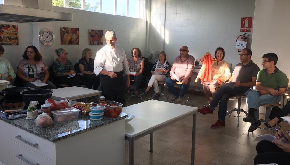 Aquest dilluns van arrencar les classes de 'Cuina de Tardor', centrades en els productes de temporada.