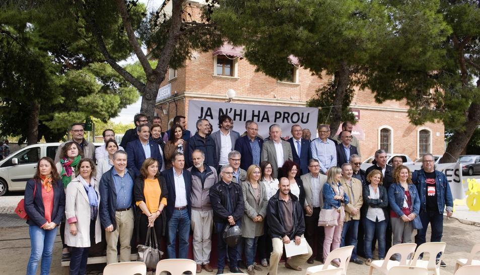 Imatge dels participants a la trobada a Vila-seca.