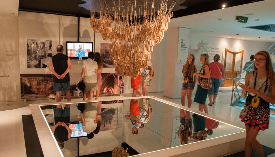 Els visitants russos disminueixen un 87% al Gaudí Centre respecte l'estiu passat