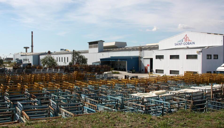 La fàbrica de Saint Gobain a l'Arboç.