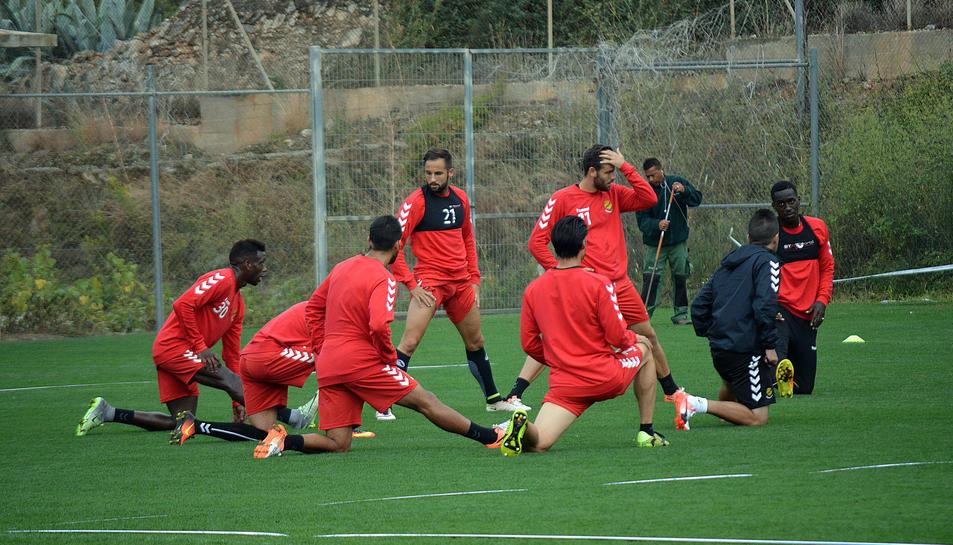 Els jugadors han preparat a consciència el partit.