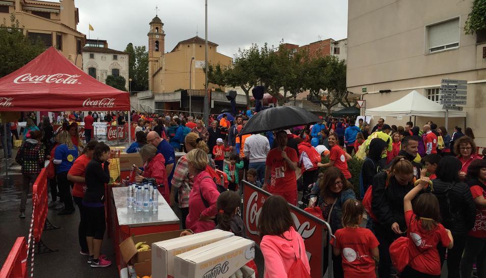 La III Cursa Hol·la Genís va comptar amb 1.100 inscrits i un centenar de voluntaris.