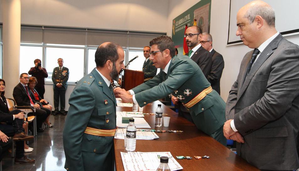 Acto institucional de la Guardia Civil en Tarragona