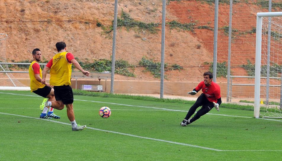 Edgar Badia és una de les claus del CF Reus en aquest gran inici de temporada.
