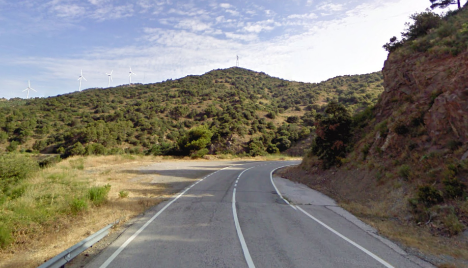 Imatge d'arxiu de la carretera N-420.