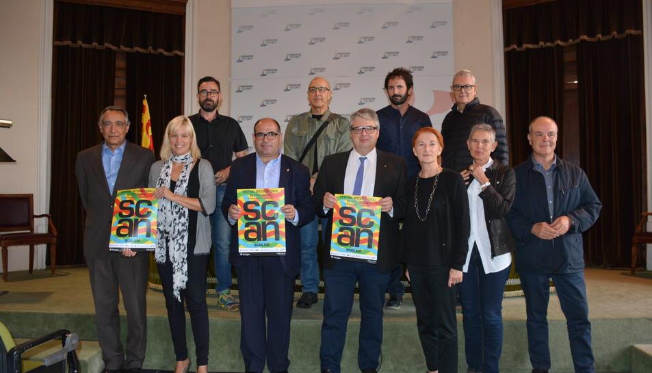 Imatge de la presentació de la sisena edició del Festival Internacional SCAN Tarragona.