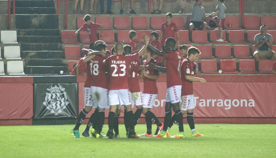 El Nàstic va derrotar el Numància a la segona ronda de la Copa.