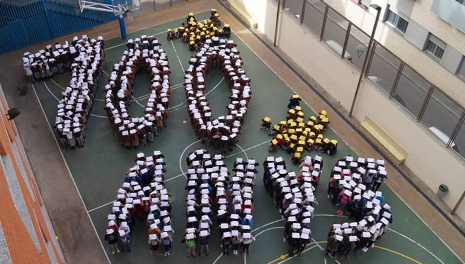 La trobada s'inclou en el marc de la celebració dels 100 anys de l'escola.