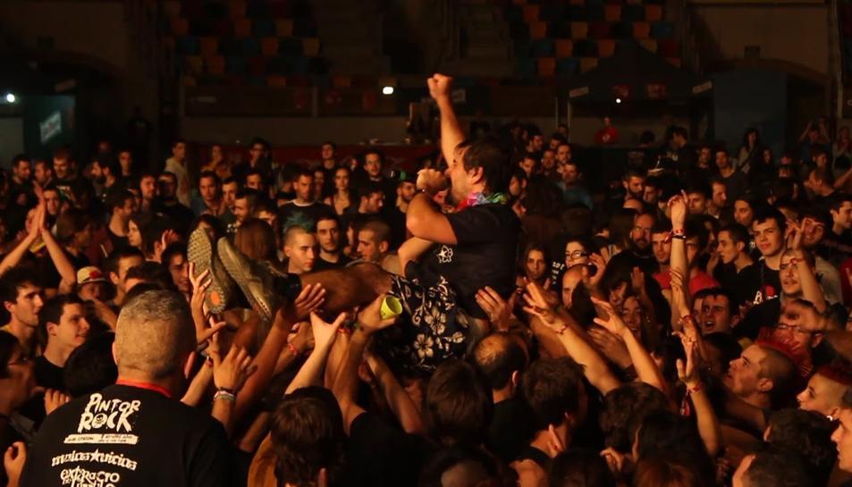 Una imatge de la celebració del Pintor Rock en anteriors edicions.