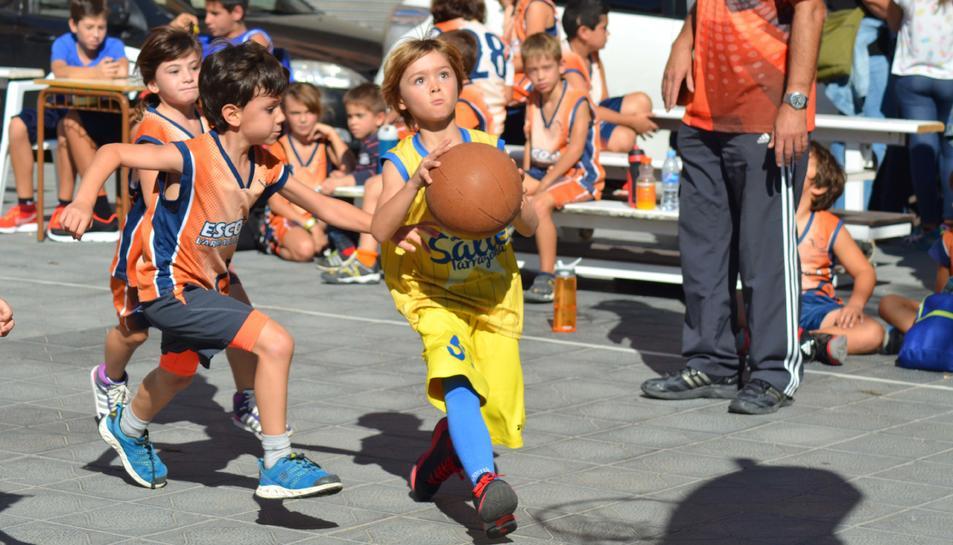 Encuentro de las escuelas de Baloncesto del CBT