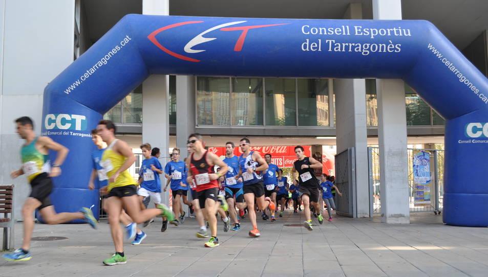 Prop de 300 participants han pres part de la sortida al Campus Catalunya