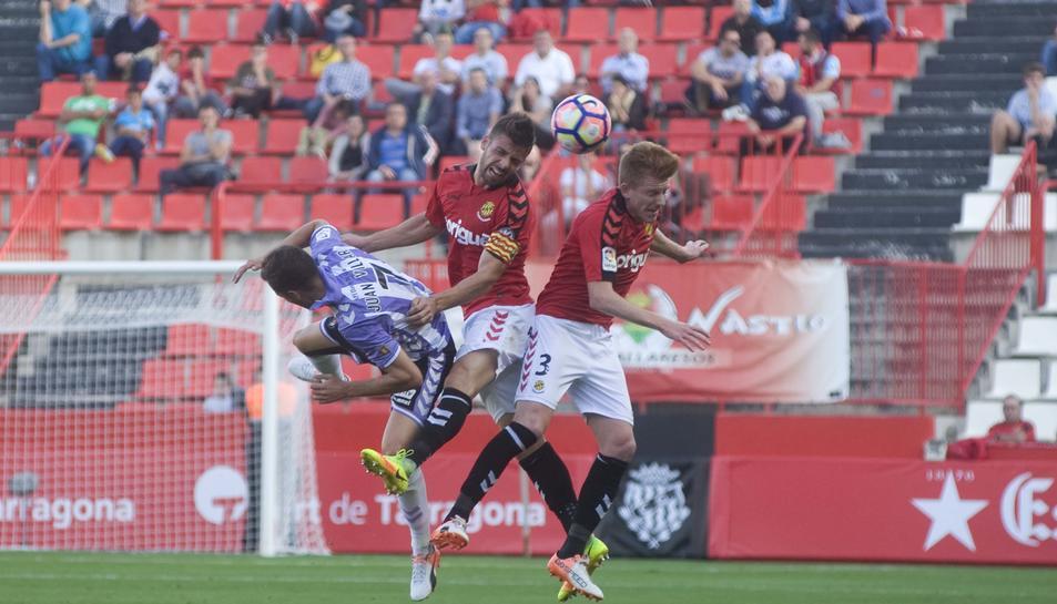 Molina (esquerra) i Mossa, en un salt.