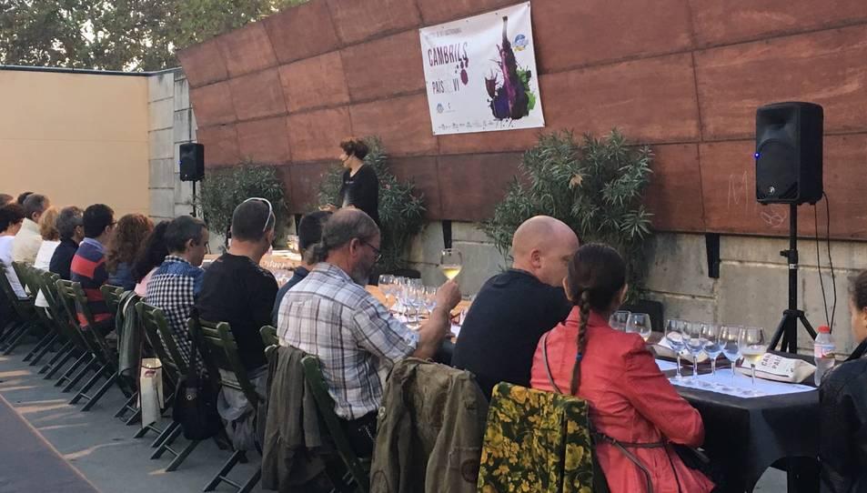 La mostra compta amb tallers i degustacions de vi i gastronomia.