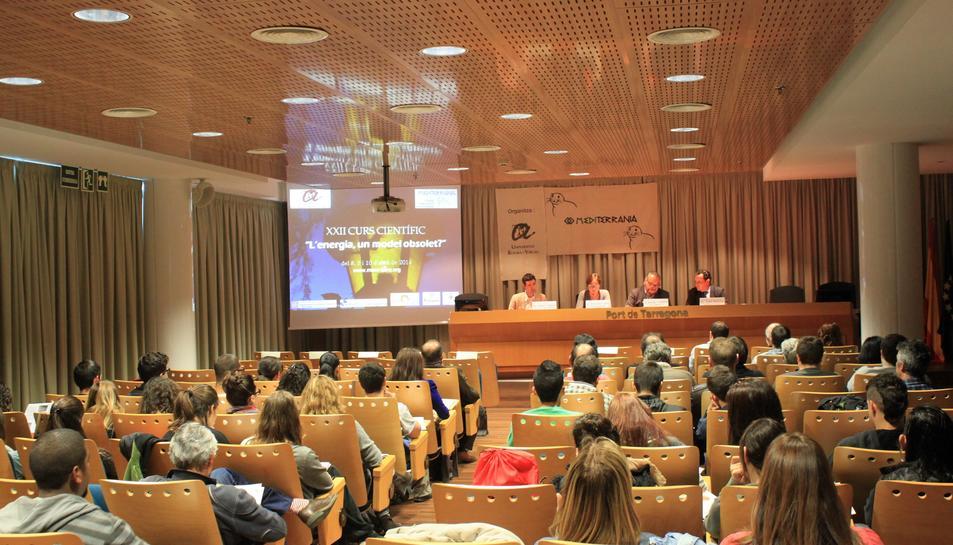 Imatge de la darrera edició de les Jornades Científiques Mediterrània.