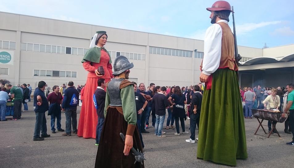 Una passada edició de la Festa de l'Oli Nou.