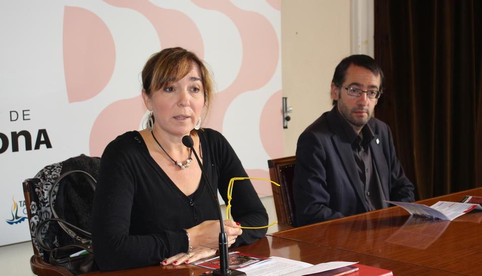 imatge de la presentació del programa d'actes de les V Jornades Tarragona 1800.
