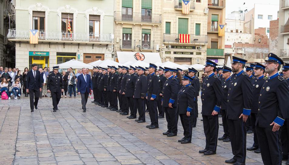 Fiesta patronal de la Guàrdia Urbana de Reus