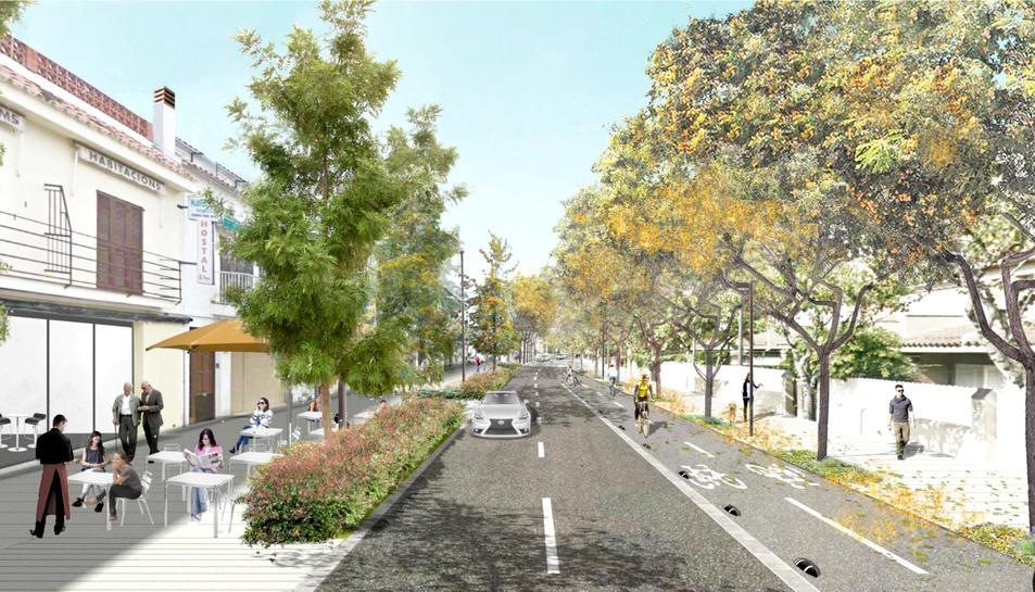 Imatge virtual del projecte.