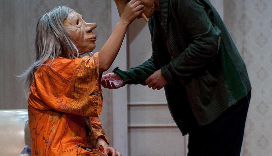 Imatge de l'espectacle 'André i Dorine', de Kulunka Teatro.