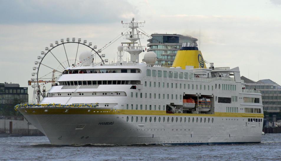 El creuer Hamburg.