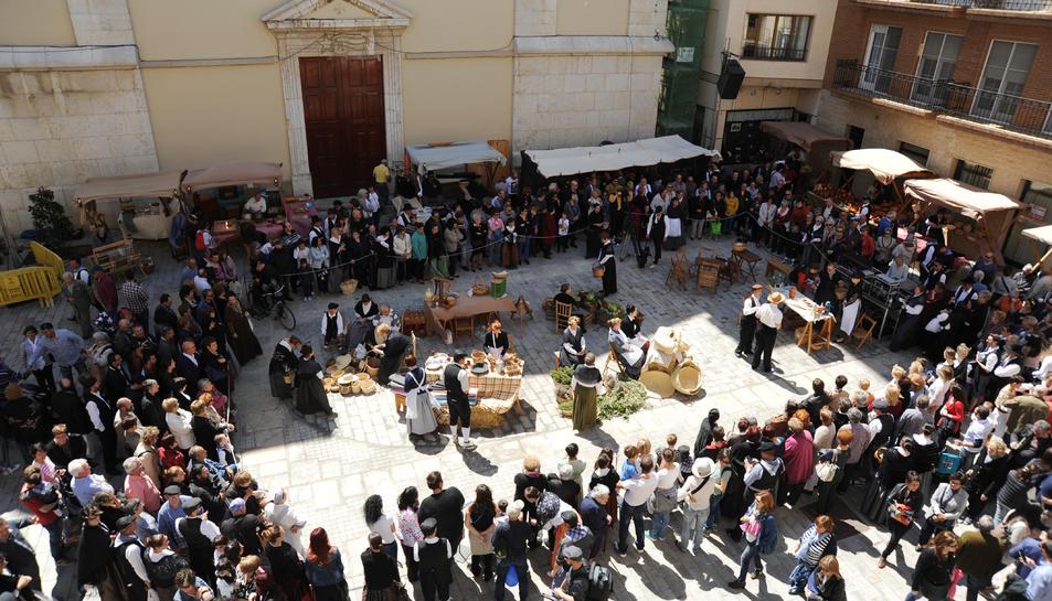 Imatge d'arxiu de la Festa del Mercat d'Amposta.