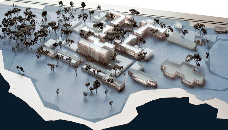 imatges del projecte d'intervenció a l'antic preventori de la Savinosa.