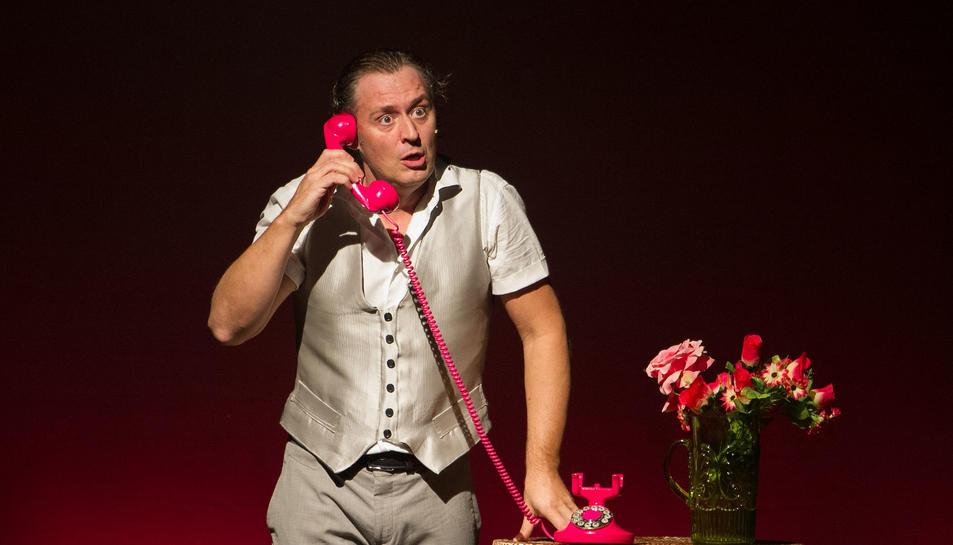 Un instant d''El Pillo, de Marcel Tomàs & Cascai Teatre, que es va representar ahir al Teatre Fortuny.