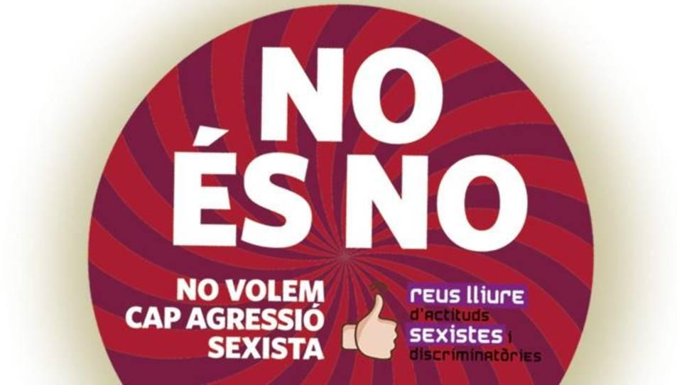 Els posagots portaran el lema 'No és No'.