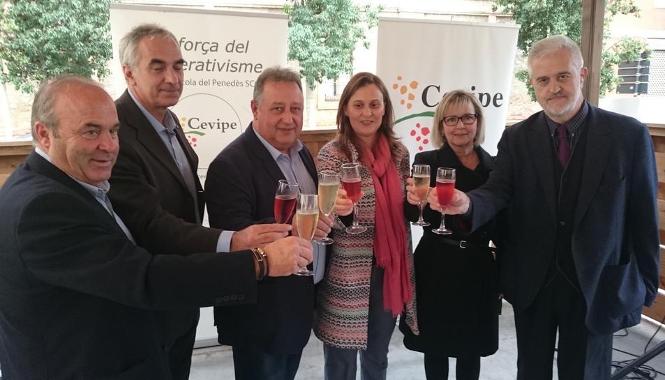 Imatge de la inauguració oficial de l'Agro-Tast del Vendrell.