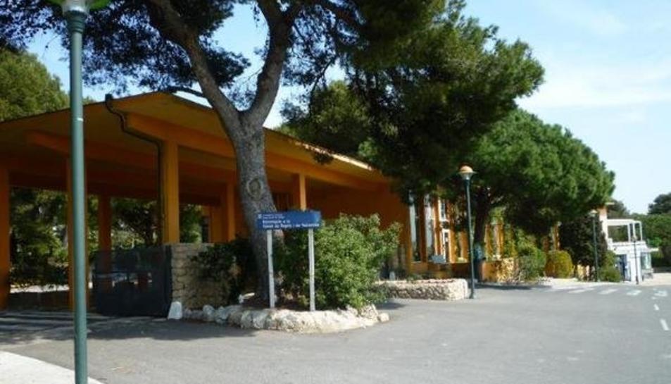 Imatge d'arxiu de l'entrada de la Ciutat Residencial de Tarragona.