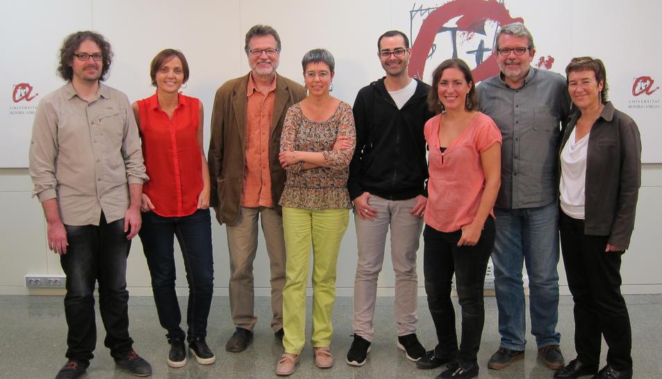 Foto de grup del Gabinet de Comunicació de la URV.
