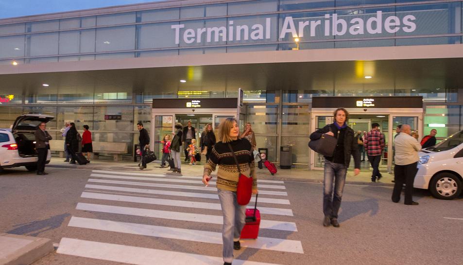 La terminal d'arribades de l'Aeroport, en una imatge d'arxiu.