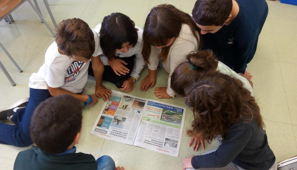 Els joves han llegit, sobretot, notícies veïnals.