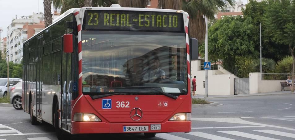 Als autobusos de Tarragona no s'hi podrà pujar amb més de tres paquets.