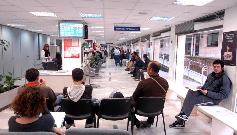 Una imatge de les oficines del SOC.