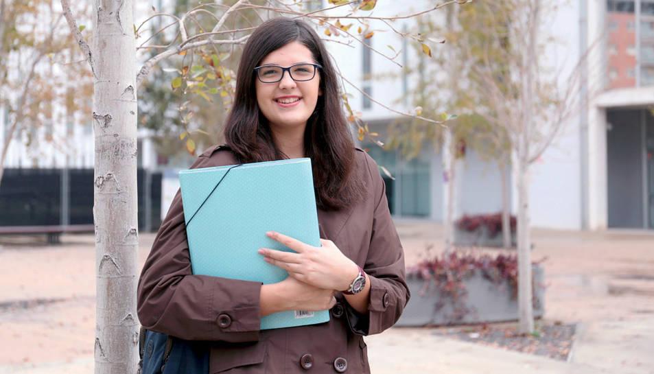 La Míriam ha començat a estudiar Filologia anglesa a la URV.