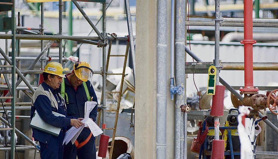 El Complex Industrial de Repsol Tarragona afavoreix la inserció laboral