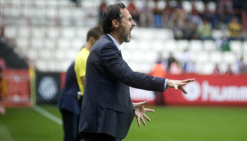Vicente Moreno confia en el triomf dels seus.
