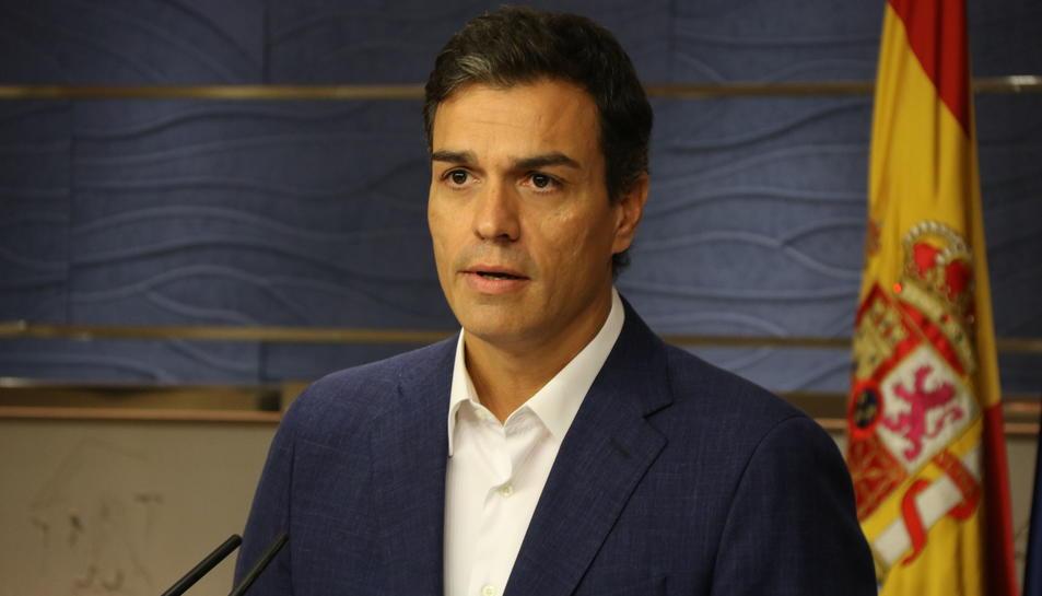 Pedro Sánchez ha pres la seva pròpia decisió.