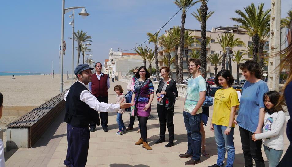 El Ramon i Marieta protagonitzen la visita teatralitzada.