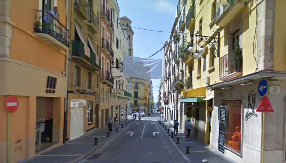 L'agressora va ser identificada al carrer Portalet.