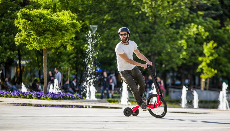 Les Halfbike proposen una manera diferent de gaudir de les bicicletes.