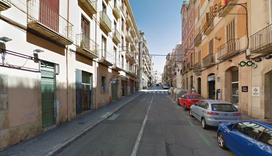 El carrer Apodaca de Tarragona.