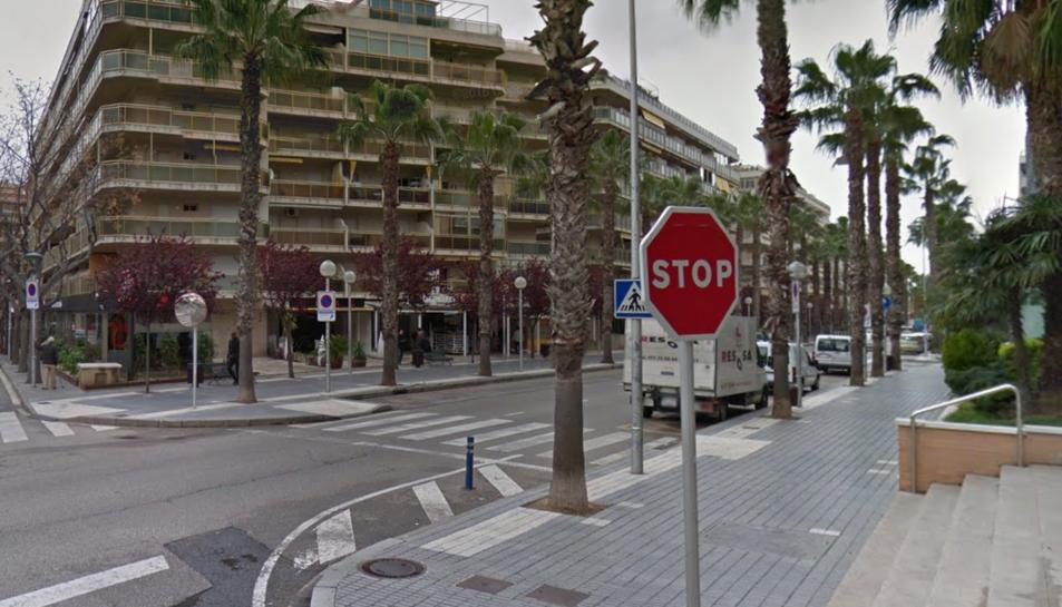 Els fets van tenir lloc al carrer Ciutat de Reus de Salou.