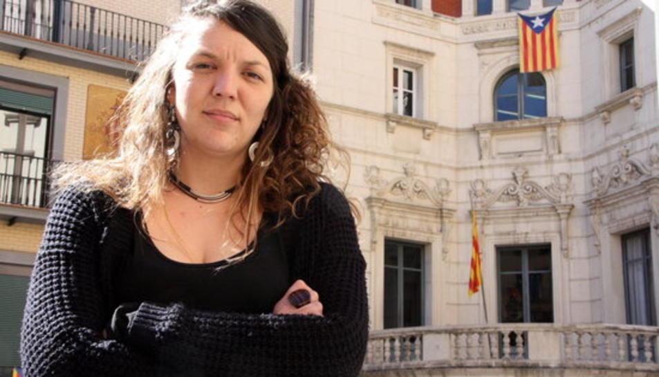 Els Mossos detenen l'alcaldessa de Berga després de penjar l'estelada el 27-S i el 20-D