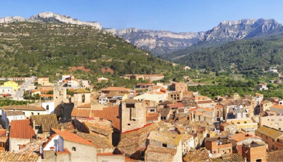 Una imatge panoràmica del municipi.