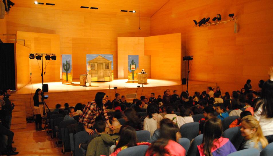 L'auditori Josep Carreras acollirà les sesions teatrals.