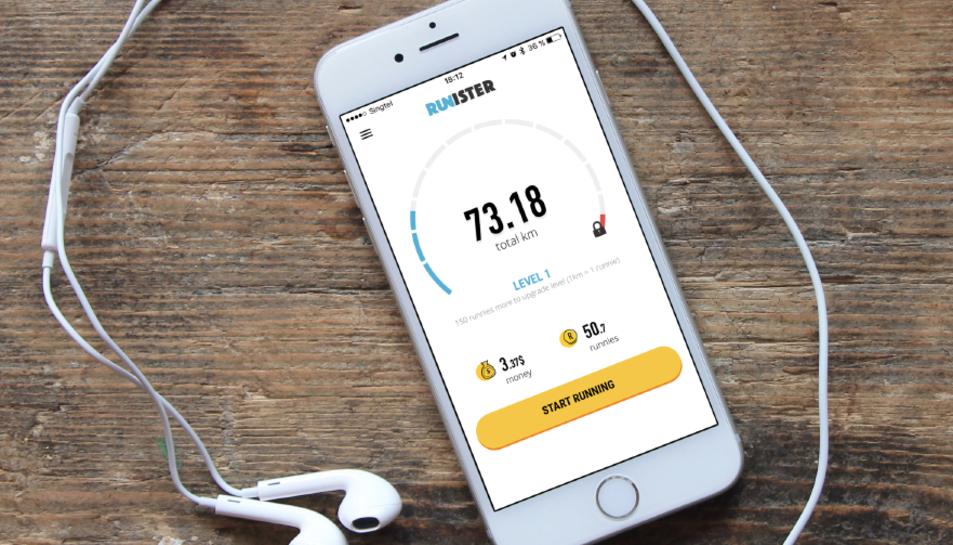 Runister és la primera i única aplicació en execució que recompensa als usuaris amb els diners.