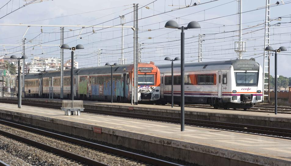 L'estació de trens de Reus en una imatge d'arxiu.
